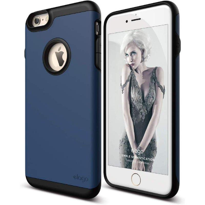 Elago Duro Gray Case for iPhone 6 Plus, 6S Plus - Jean Indigo