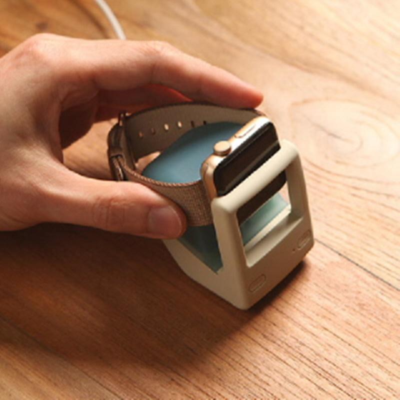 Elago W4 Apple Watch Charger Stand - Aqua Blue