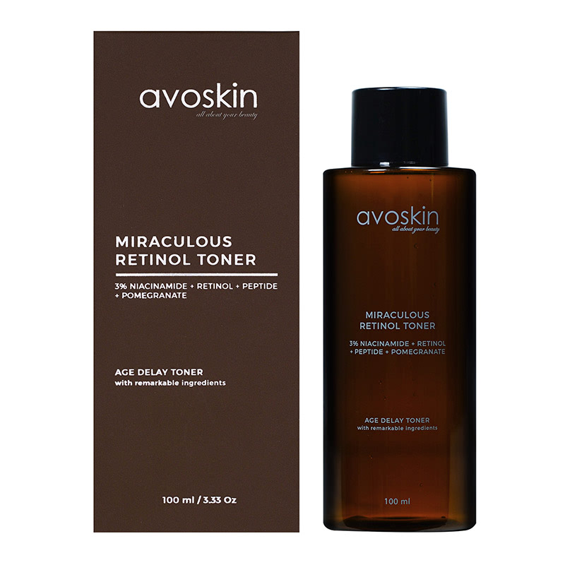 Avoskin Miraculous Retinol Toner 100Ml