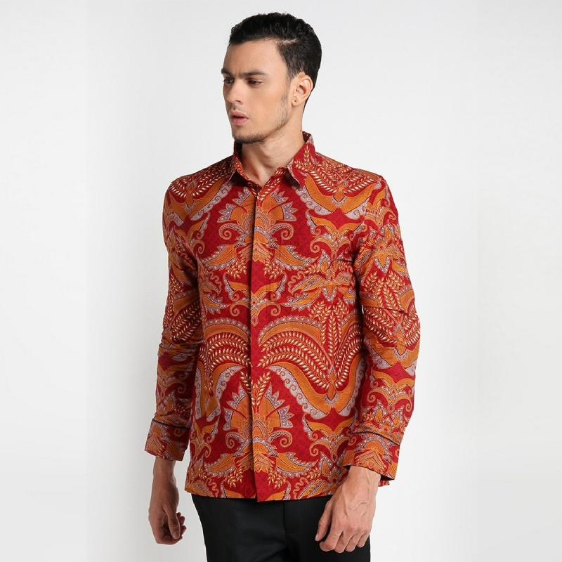 Arthesian Batik Pria Parasurama Red