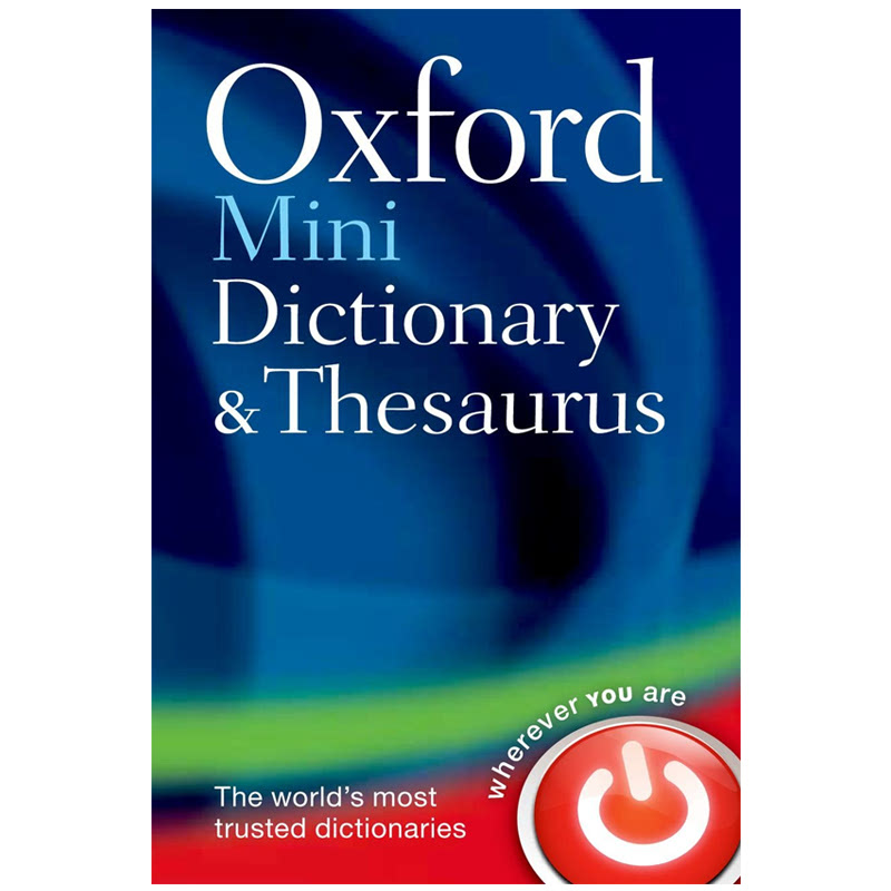 Oxford Mini Dictionary and Thesaurus Flexibound