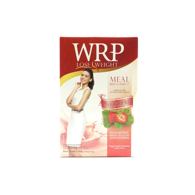 Wrp Lose Weight Mr Strawberry Box 12 S X 25Gr