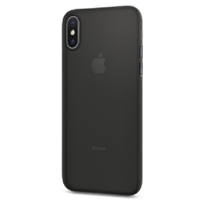 Spigen iPhone X Case Airskin - Black