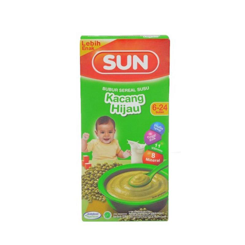Sun Bubur Sereal Susu Kacang Hijau Box 120 Gr
