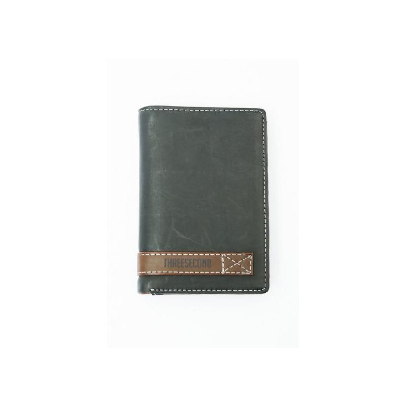3Second Men Wallet 1207 Black