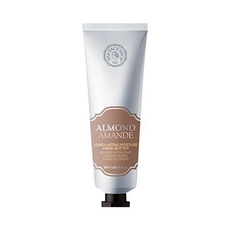 The Face Shop Almond Long-Lasting Moisture Hand Butter