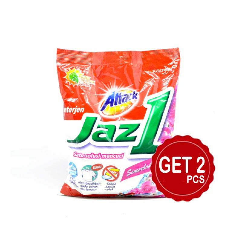 Attack Detergent Jaz1 Semerbak Cinta 900 Gr (Get 2)
