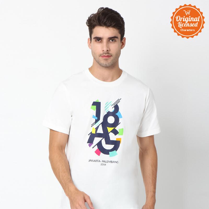 Asian Games 2018 T-Shirt Adult Unisex Tee Artwork Off White