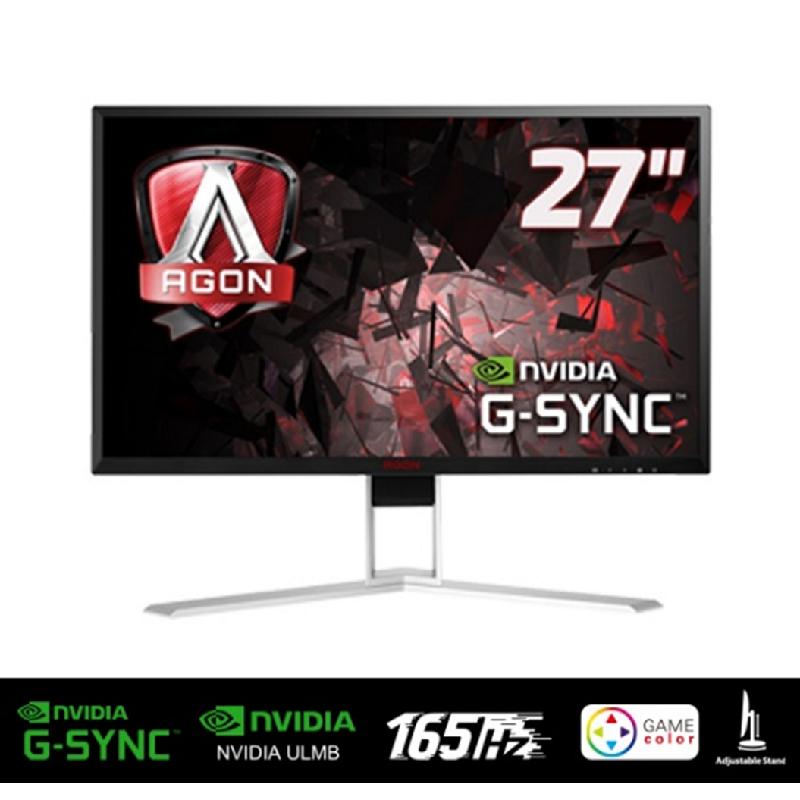 AOC Gaming Monitor AGON AG271QG - Hitam [27 inch,AHVA,2560x1440 165Hz]