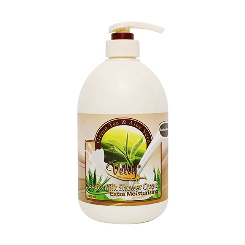 Velvy Goats Milk Shower Cream Rosehip Seed O & Peach 1L