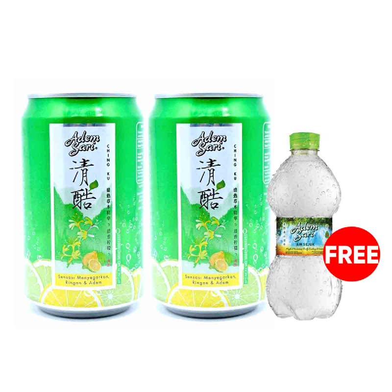 Adem Sari Ching Ku Sparkling 320Ml (Buy 2 Get 1 Free)