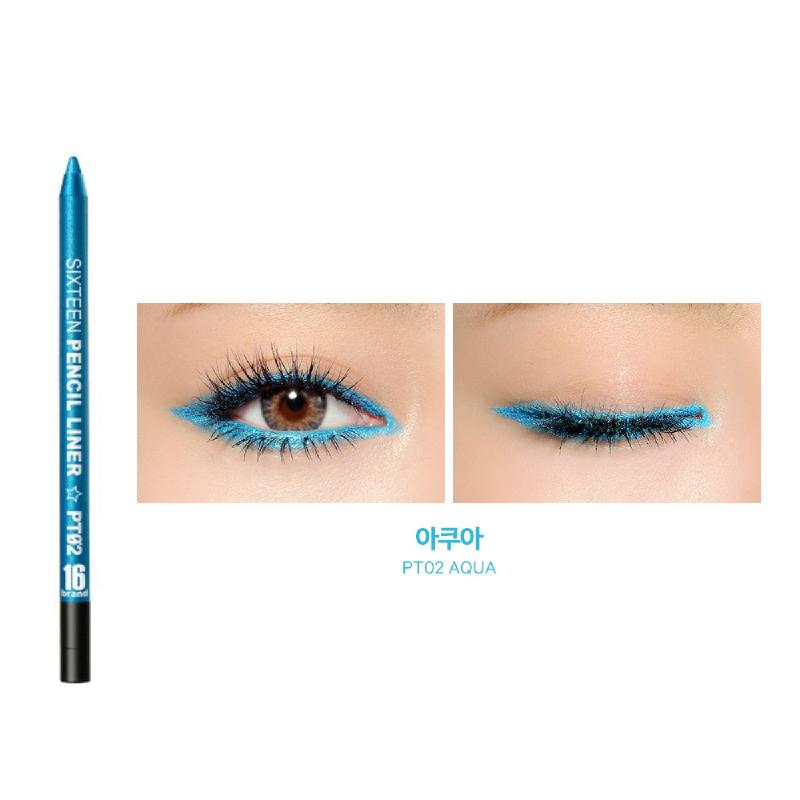 16brand Eye Pencil Liner - Aqua