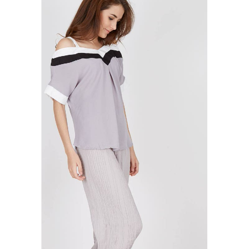 Francois Morfel Top in Grey