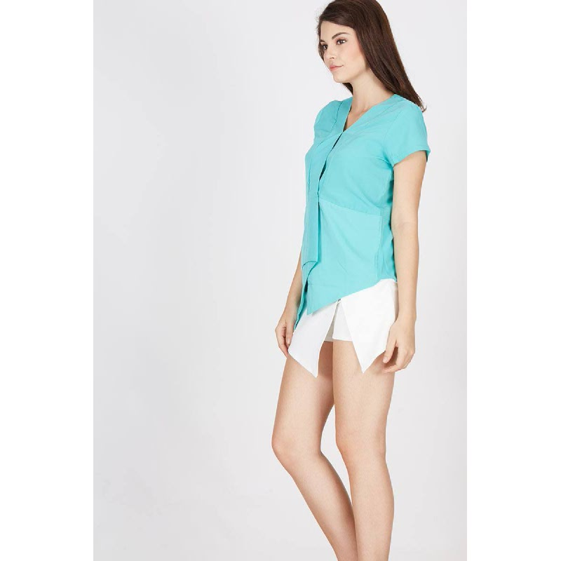 Emberly Mint Top