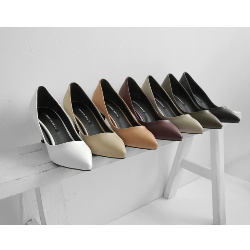 SAPPUN Far Tusseon Basic Stilettos (7cm) - Black