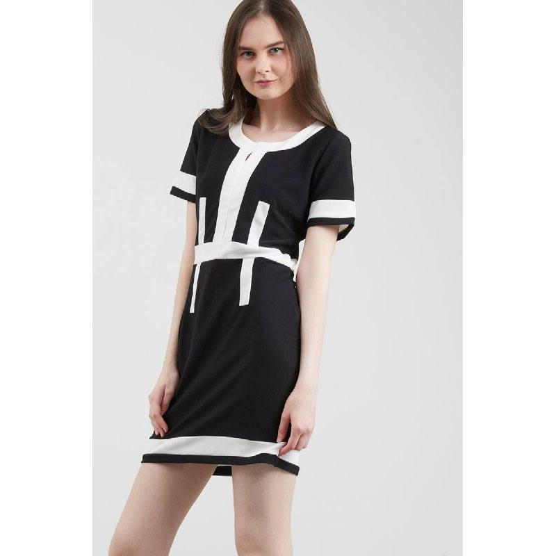 Francois Sontra Dress in Black