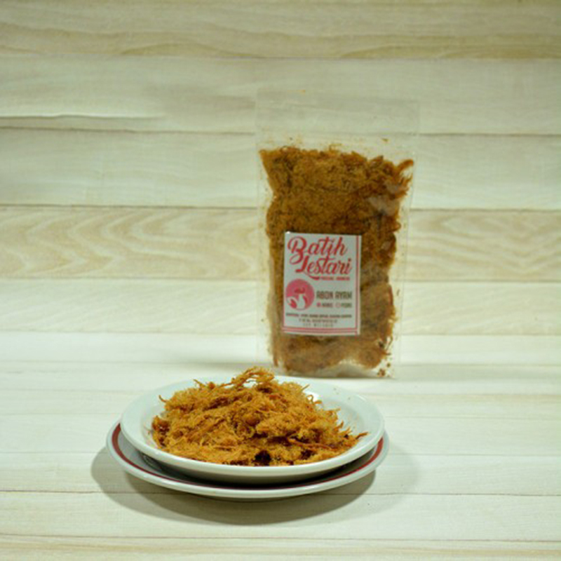 Batih Lestari - Abon Ayam Manis 80 gr (isi 3 pcs)