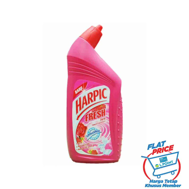 Harpic Liquid [Floral] 450 Ml (Flat Price)