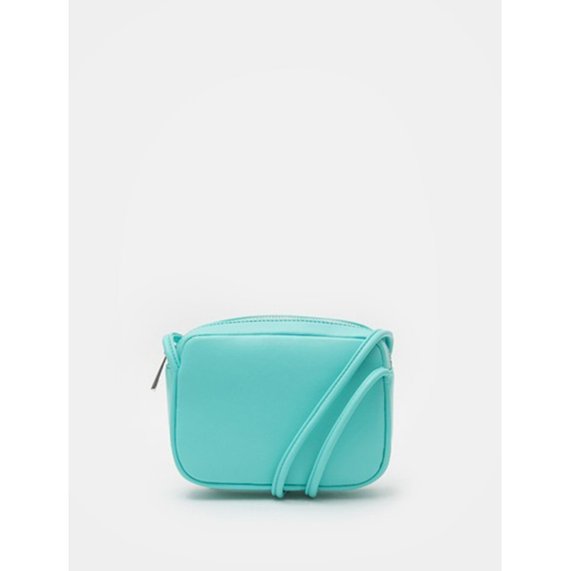 8 seconds Women Green Square Mini Cross Bag - Green