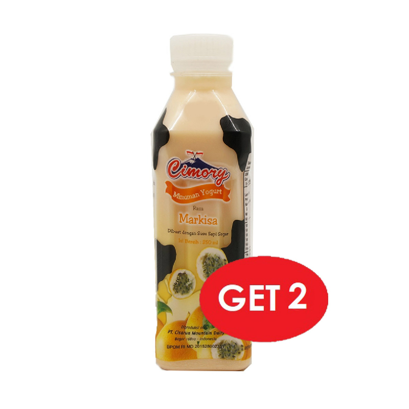 Cimory Drink Passion Fruit 250 Ml (Get 2)