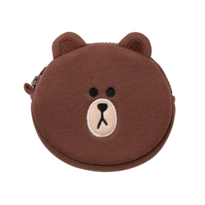 Mini Coin Wallet - Brown