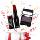 Absolute New York Matte Stick Lipstick Dark Red + Eye Artiste Mystique