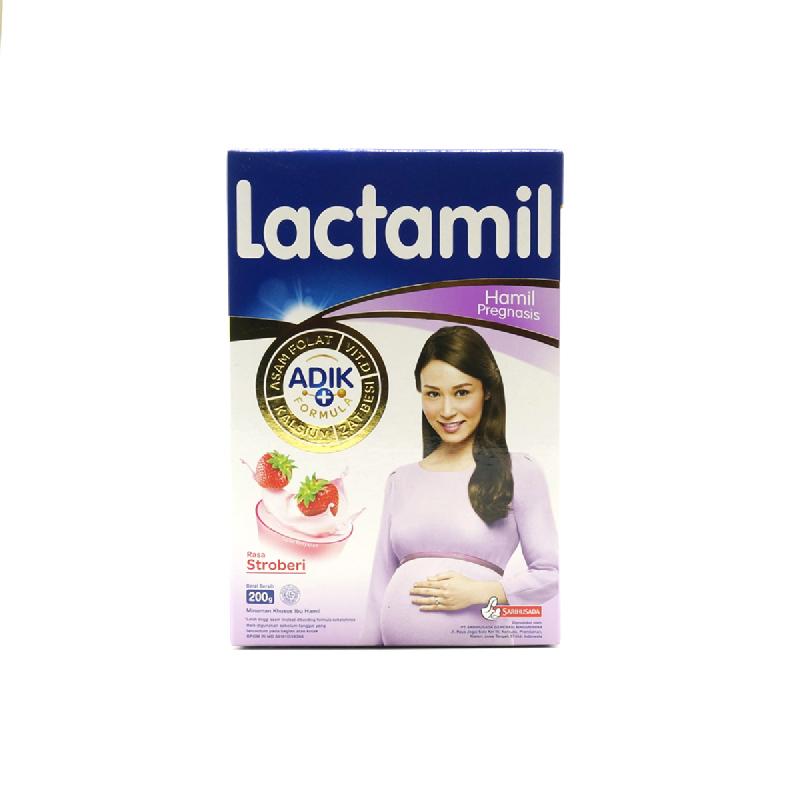 Lactamil Pregnasis Strawberry Box 200Gr