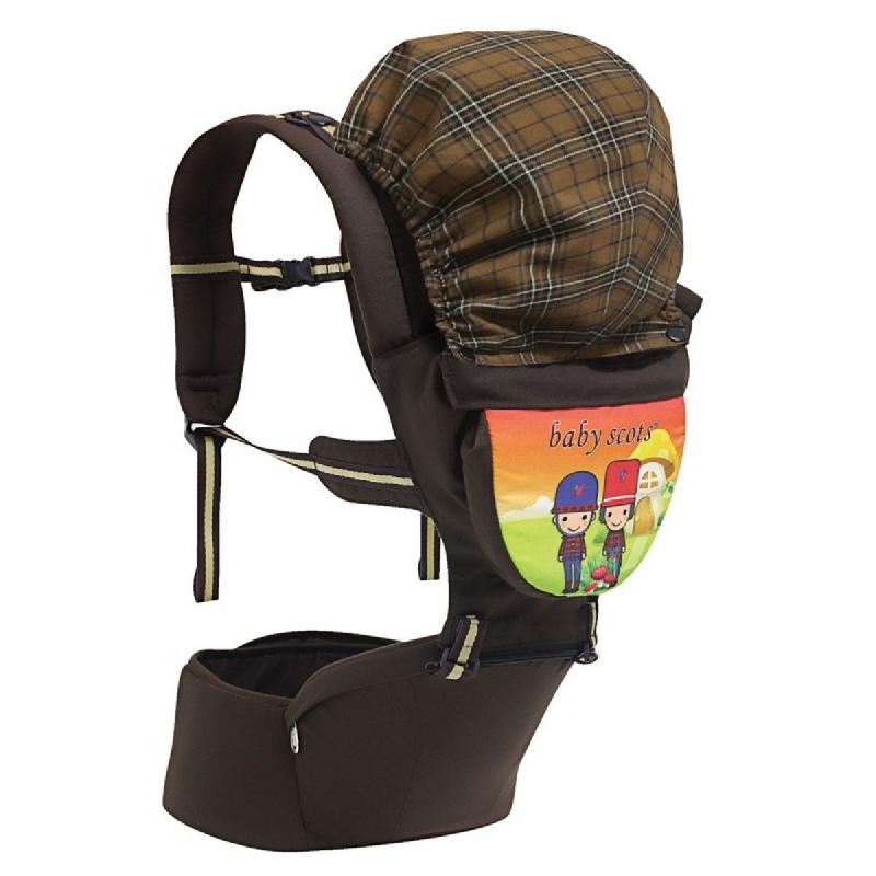 Baby2go Hip Seat PrintBSG2101 Cokelat