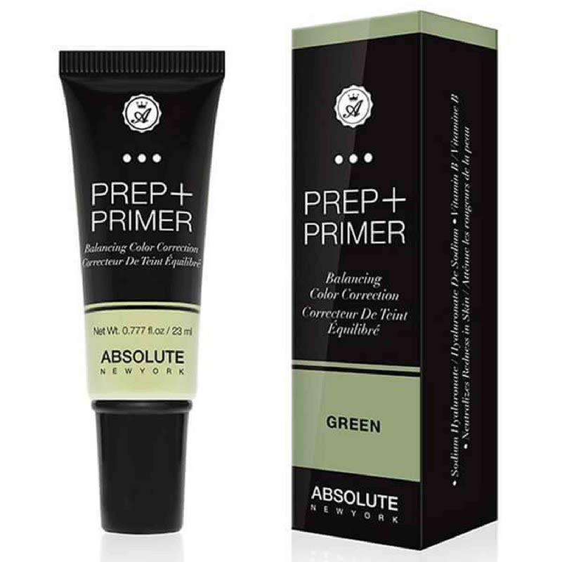 Absolute New York Prep Primer Balancing Color Correction Green