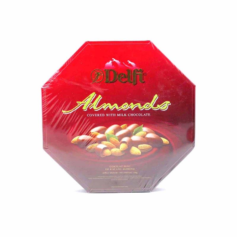 DELFI CHOCO BOX ALMOND 100 GR