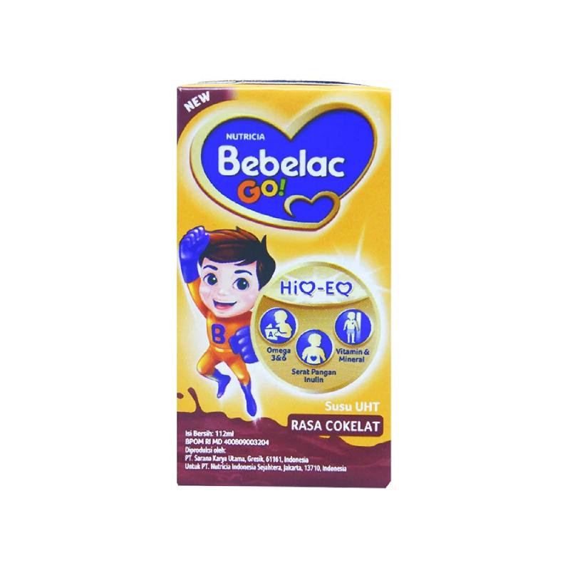 Bebelac Go Uht Cokelat 112 Ml