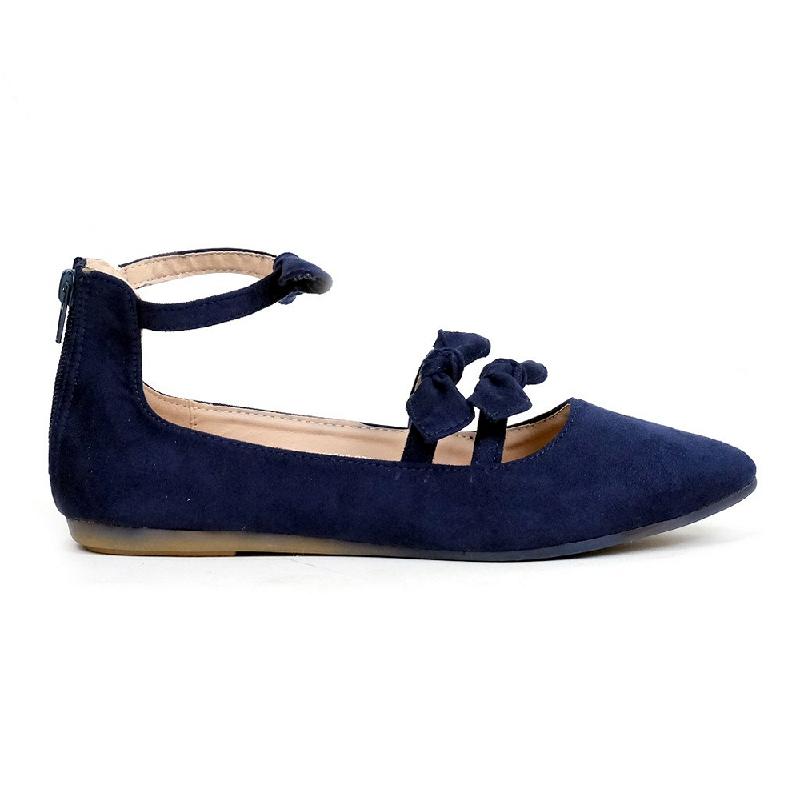 Austin Flat Shoes Kabecka Navy