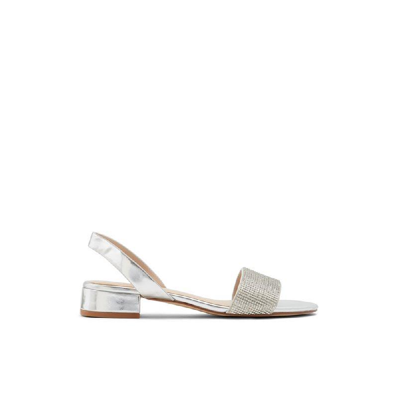 Aldo Ladies Sandals Candice 040 Silver