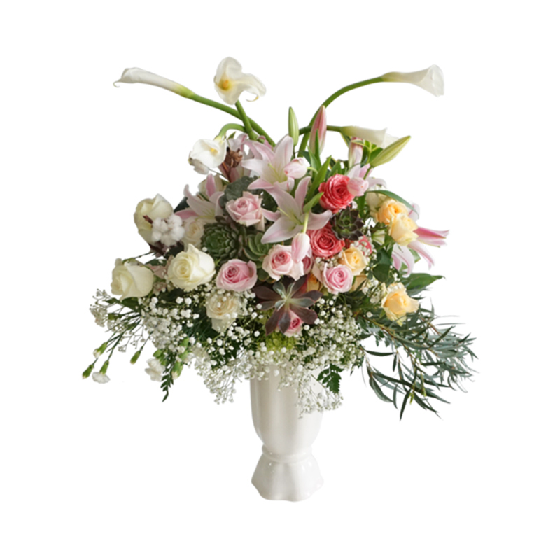 Outerbloom - Stunning Roses & Lillies In Vase
