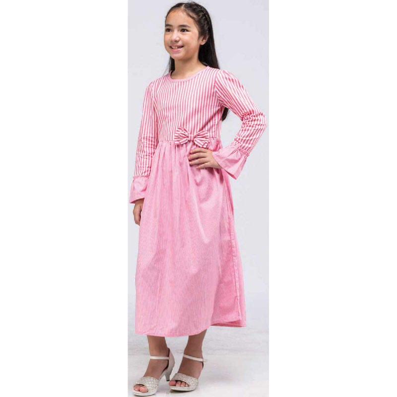 Barbie Gamis Lebaran Pink Size M