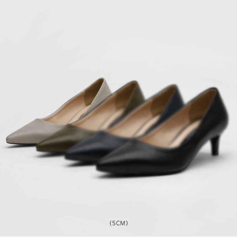 SAPPUN Kamelri Basic Stilettos (5cm) - Gray