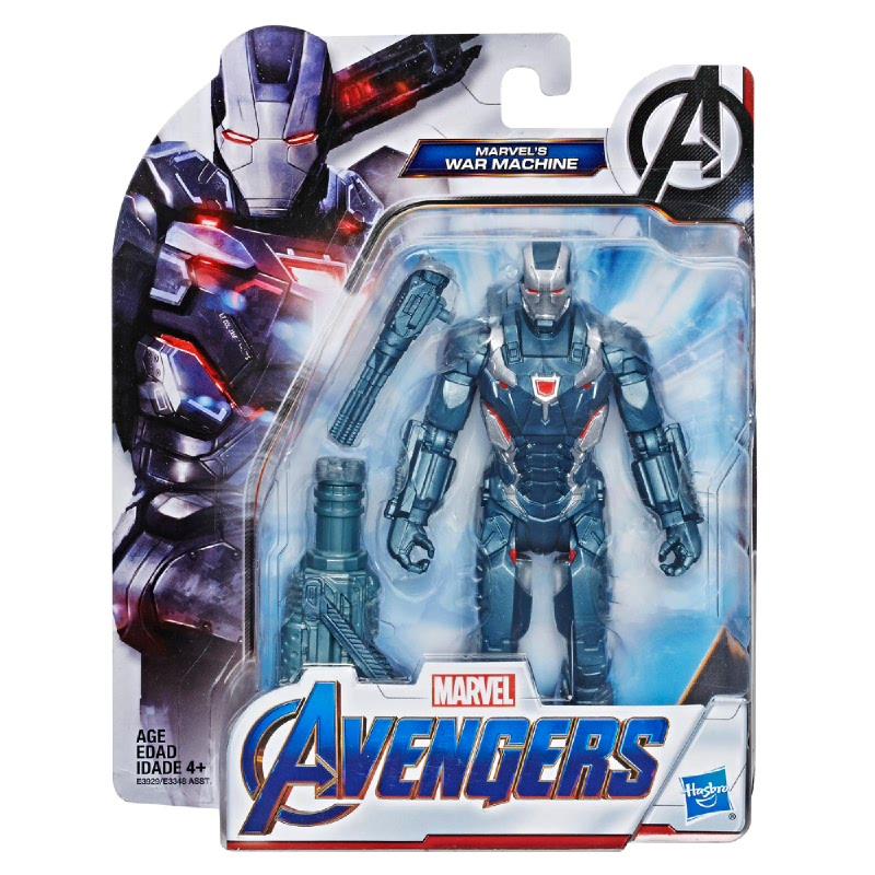 Marvel Avengers Endgame Marvel's War Machine 6-Inch-Scale Figure AVSE3929