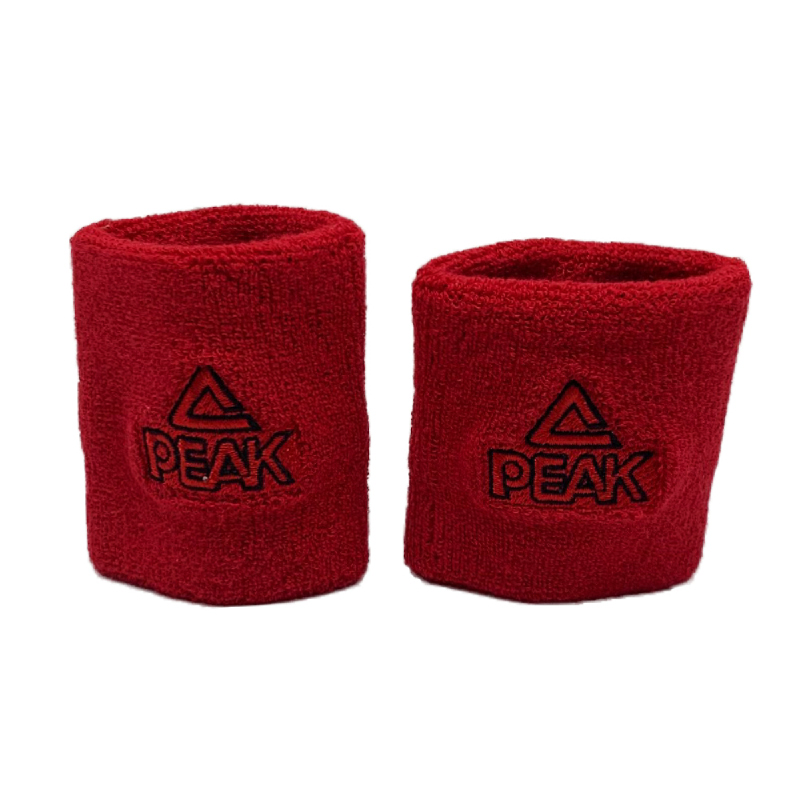 PEAK INDONESIA HANDBAND H1510 RED BLACK