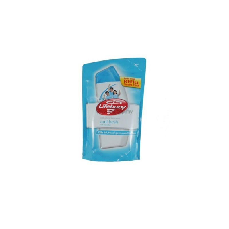Lifebuoy Body Wash Coolfresh Refill 450 Ml