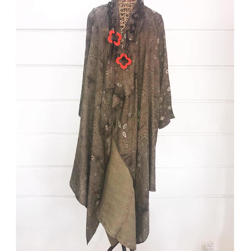 Batik Chic Outer Jumoutan Hijau Army