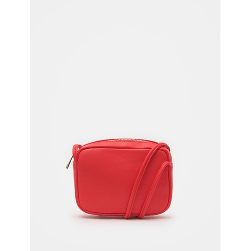 8 seconds Women Red Square Mini Cross Bag - Red