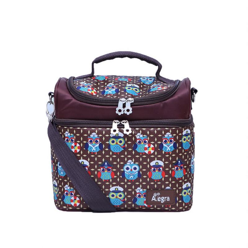 Allegra Bubu New Maxi Cooler Bag Owl Brown