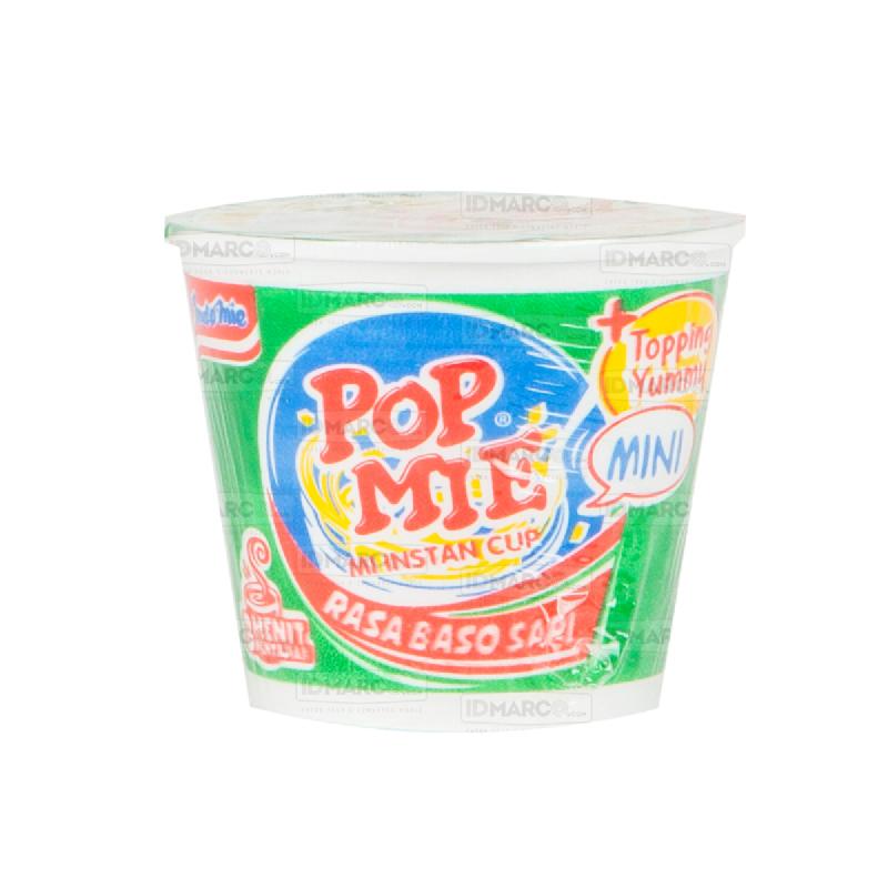 Pop Mie Mini Baso Sapi Regular -  1 karton (24 pcs)