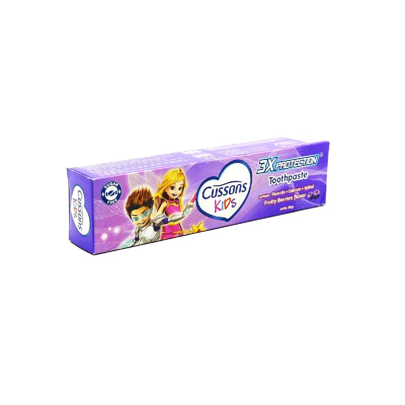 Cusson Kids Pasta Gigi T Frutti 45gr