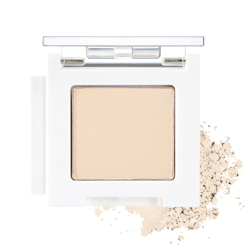 The Face Shop Mono Cube Eyeshadow (Matte) BR08 Salted Butter