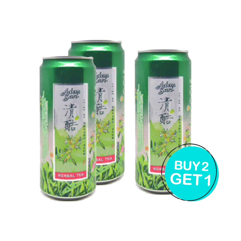 Adem Sari Ching Ku Herbal 325 Ml (Buy 2 Get 1)