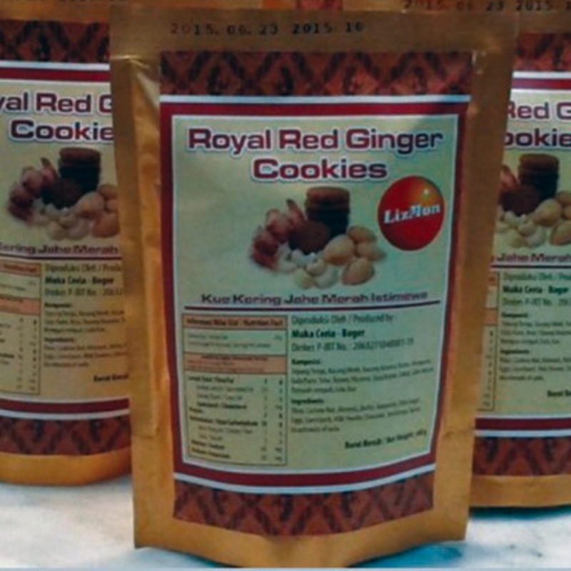 Royal Red Ginger Cookies Pouch ( 2 Pack )