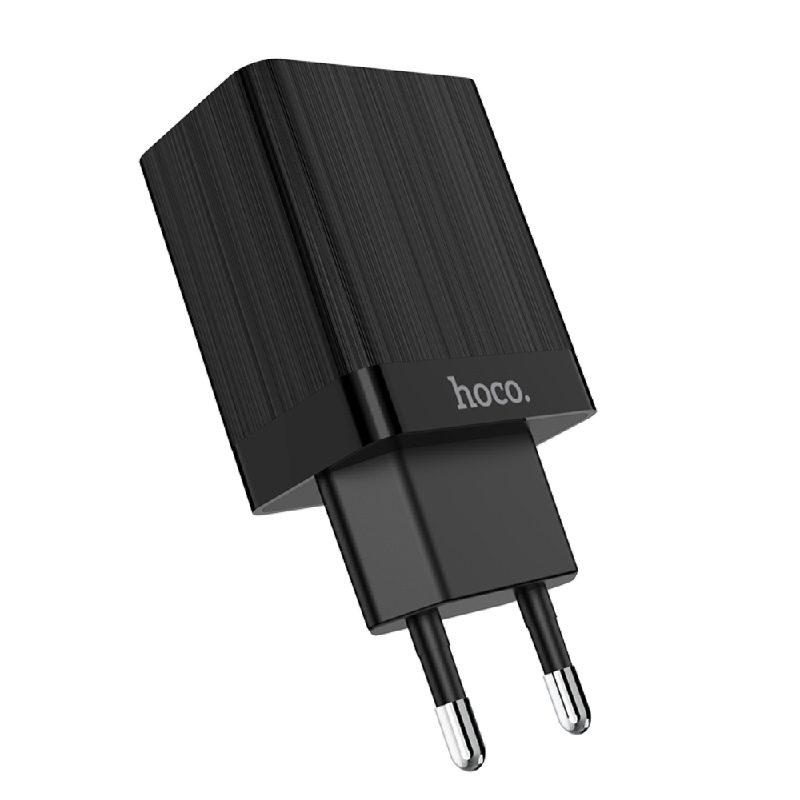HOCO Dual Port Charger C51A Black