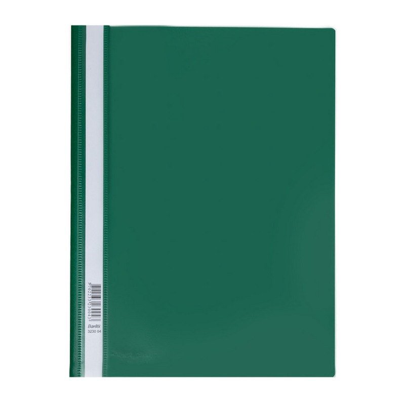 Bantex Quotation Folders with Coloured Back Cover A4 Green-3230 04