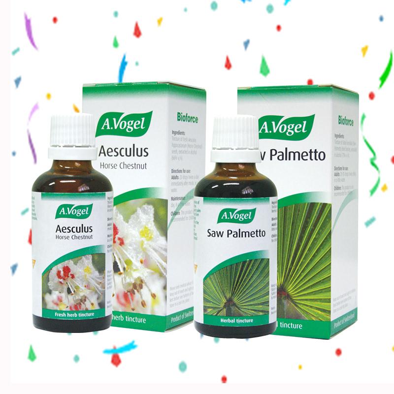 A. Vogel Aesculus 50 ml + A.Vogel Saw Palmetto 50 ml